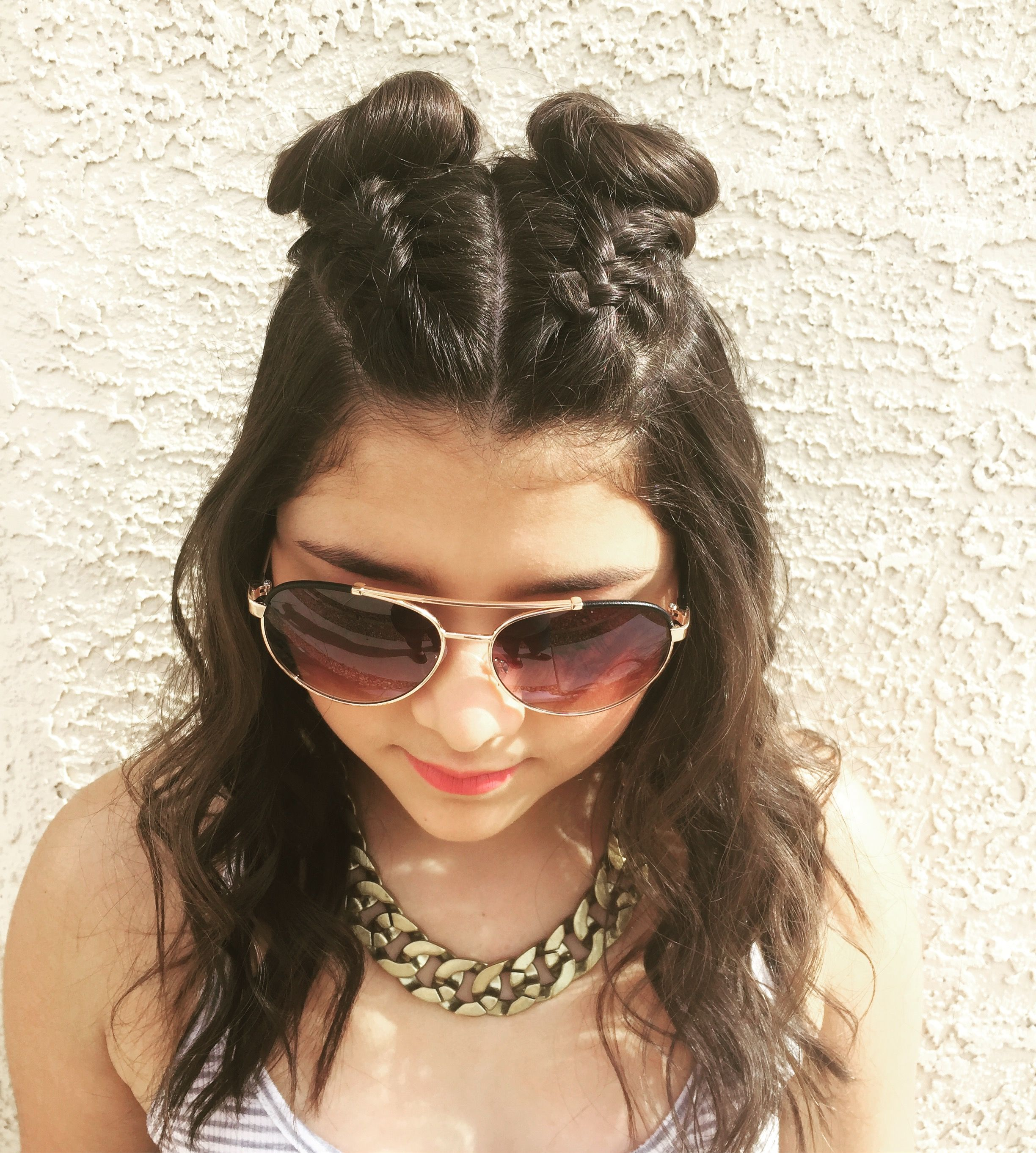 Cute hairstyle for medium length hair hairbydaileny creative