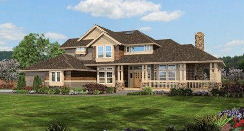 Plano de casa familiar grande con 4 habitaciones planos - Planos de casas grandes ...