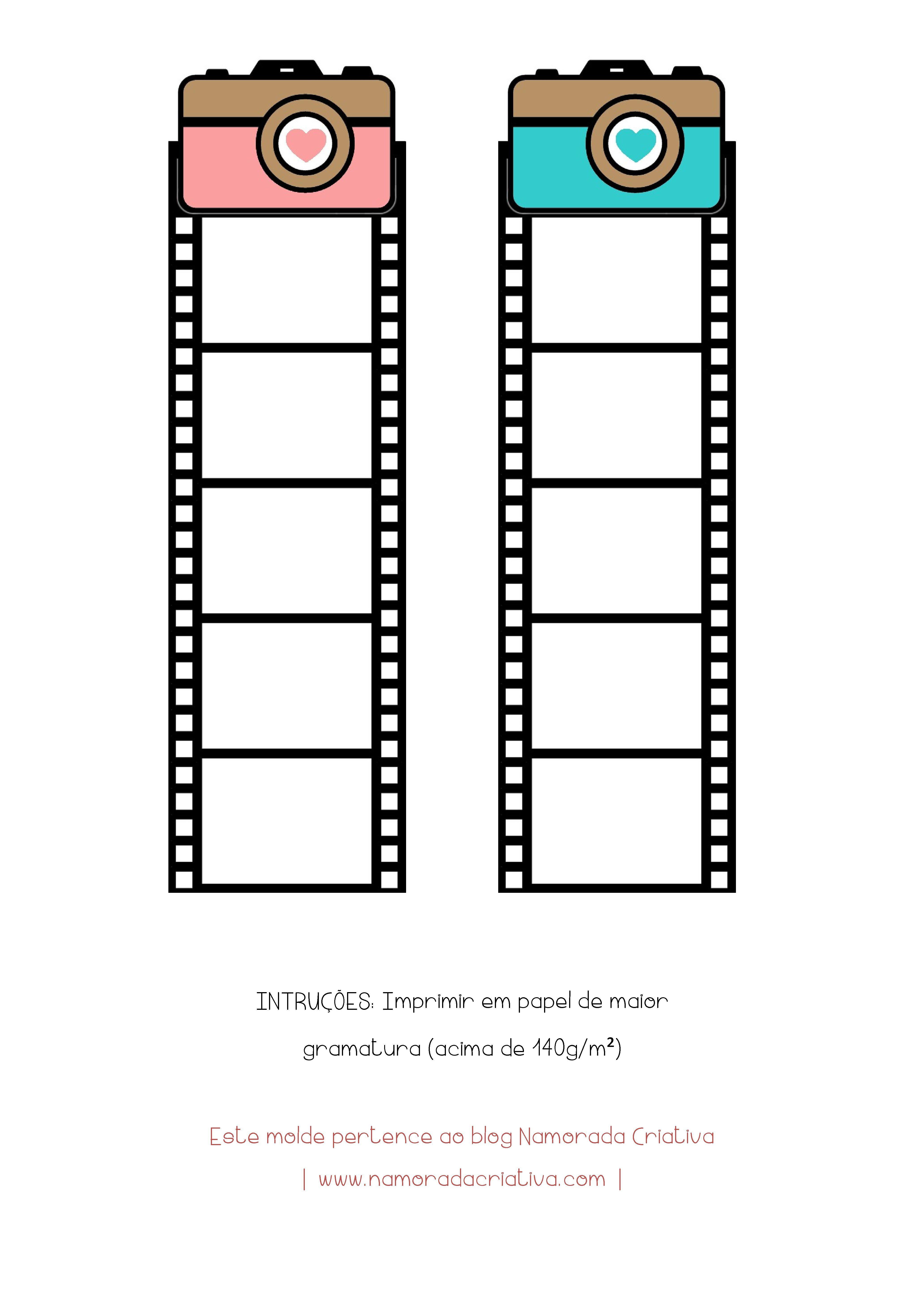 Diy Marca Paginas Para O Casal Atividade Imprimir Sobres