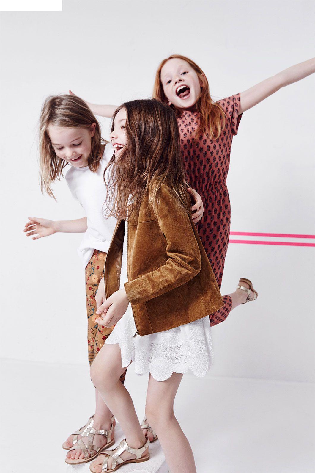 f7df99f3f ZARA - #zaraeditorials - GIRLS / THE SPRING REPORT | kids | Kids ...