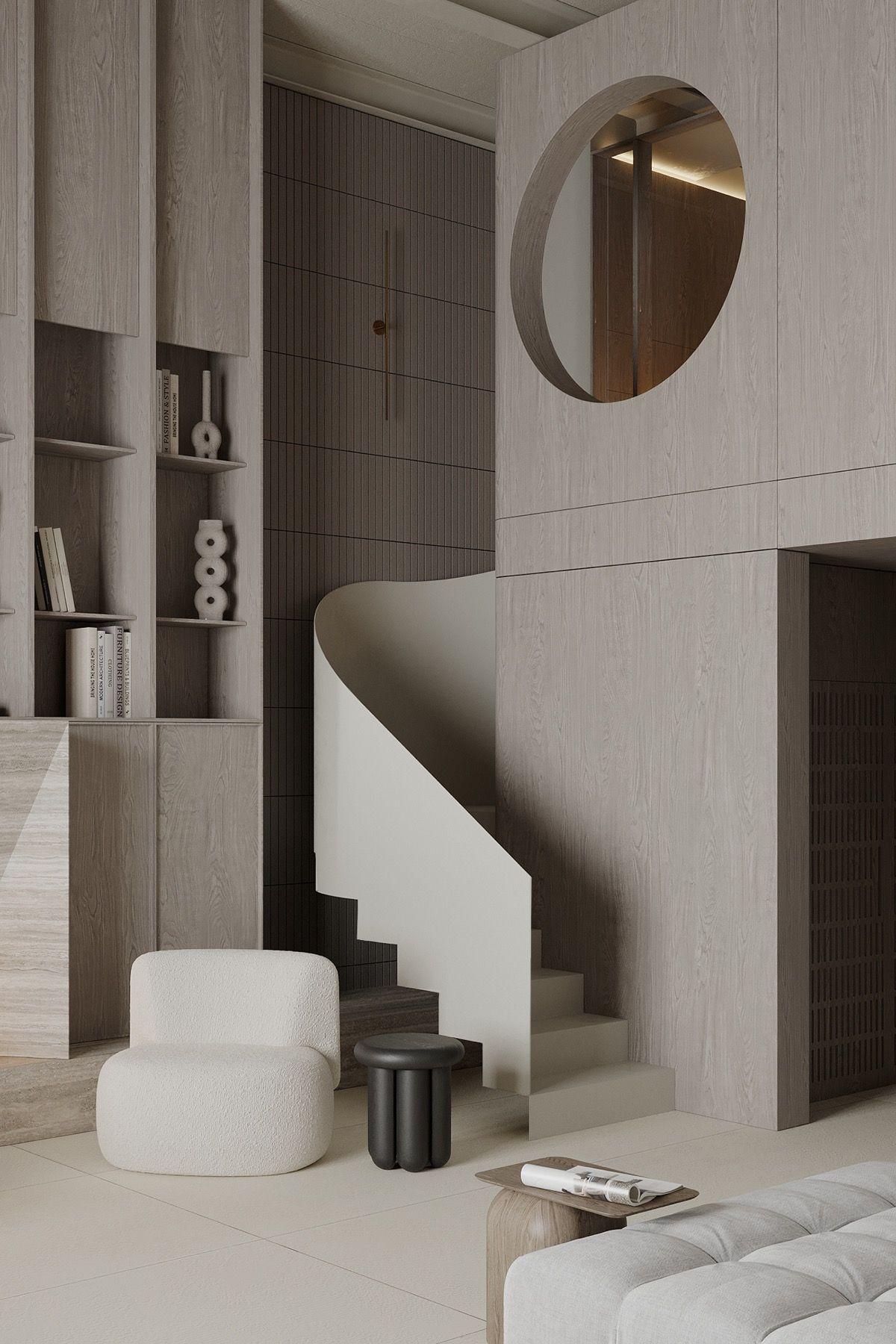 Luxurious Loft Living & Reposeful Decor