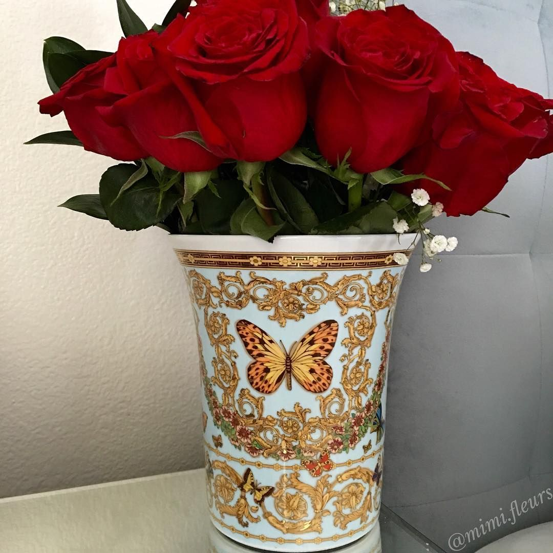 Beautiful Flower Vases From My Instagram Account Flowers Beautiful Roses In A