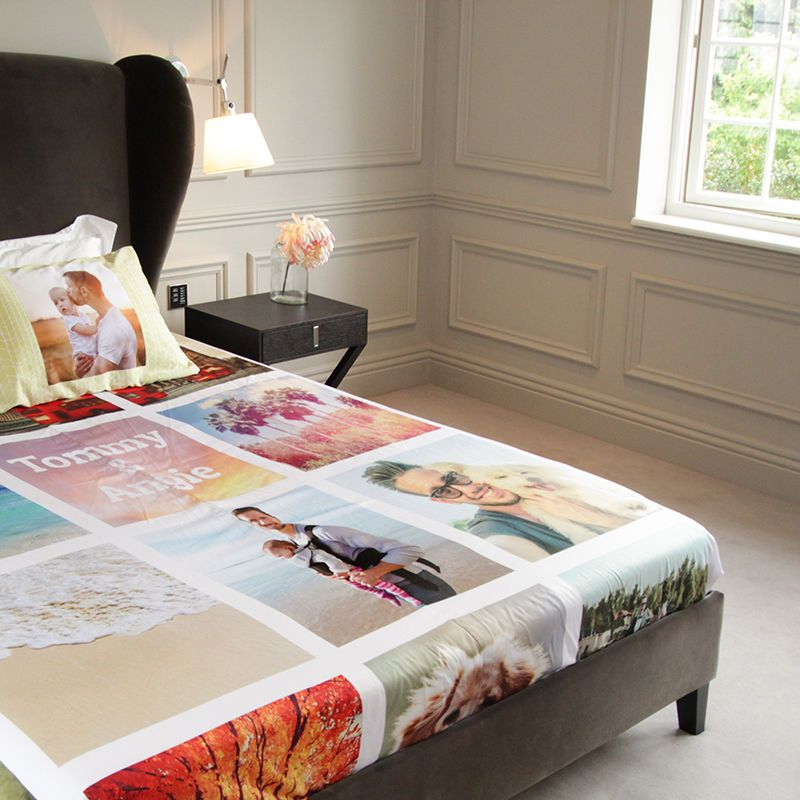 Contact Me For Your Bedsheet Design With Your Photos Personalized Bedding Bed Sheets Bed