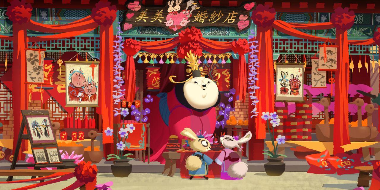 Desenvolvimento Visual de Kung Fu Panda 3, por Arthur Fong
