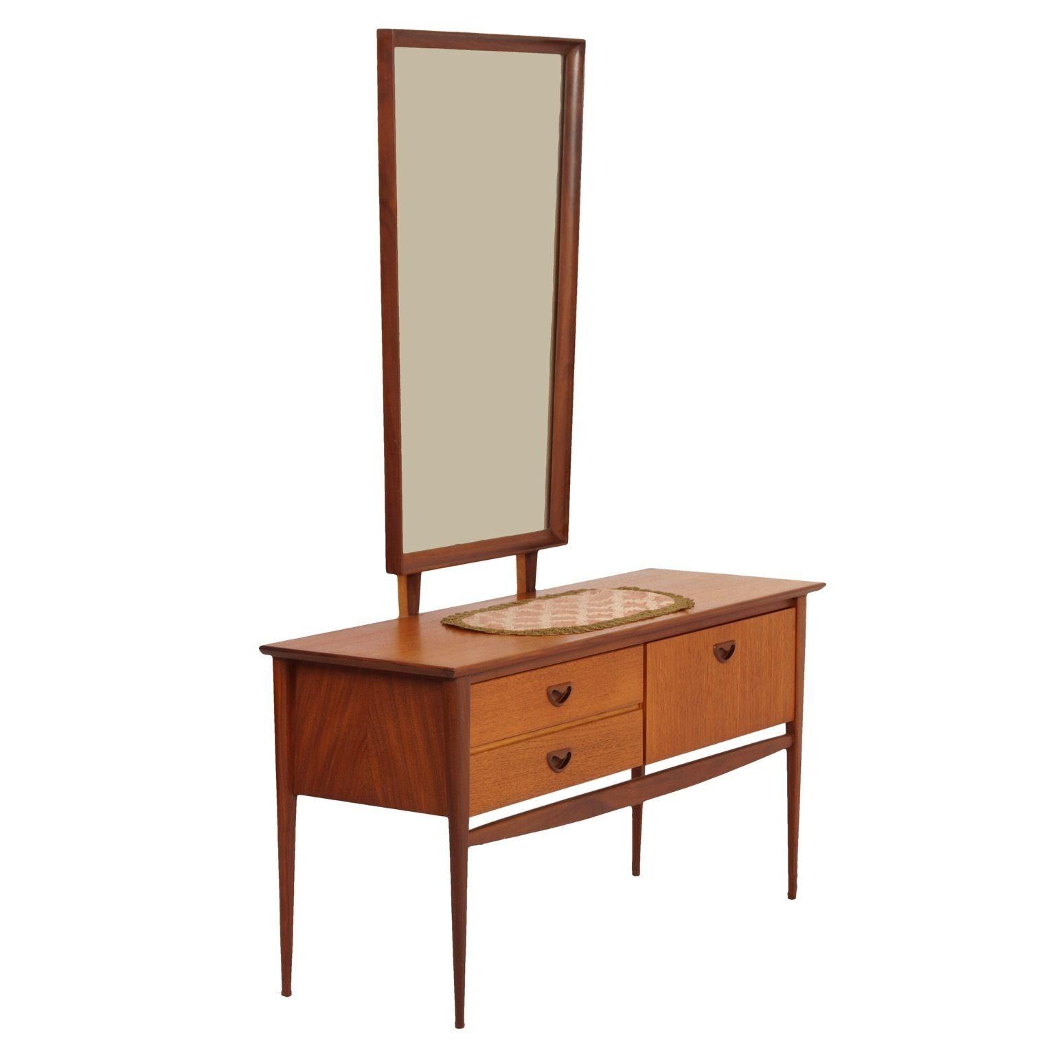 Teak Dressing Table By Louis Van Teeffelen For Webe 1960s Teak Dressing Table Design Dressing Table For Sale