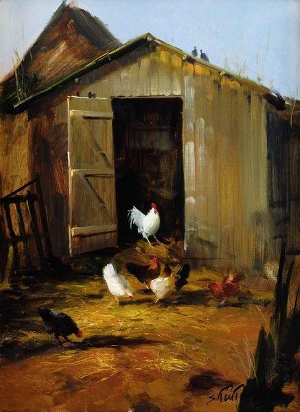 Epingle Par Dolly Brown Sur Farm Dreams Peinture Renard Art