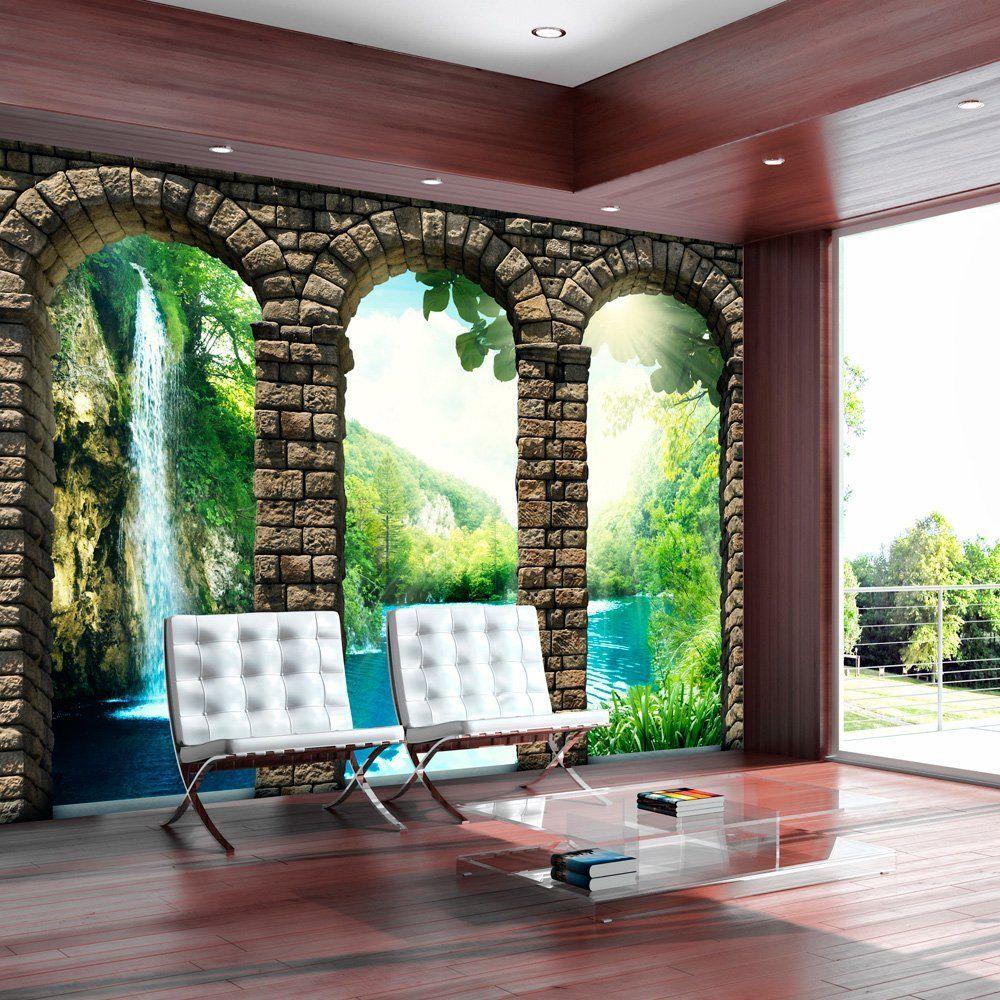 Simple Vlies Fototapete x cm Top Tapete Wandbilder XXL Wandbild Bild Fototapeten Tapeten Wandtapete ArchiMuralsSketchesNature