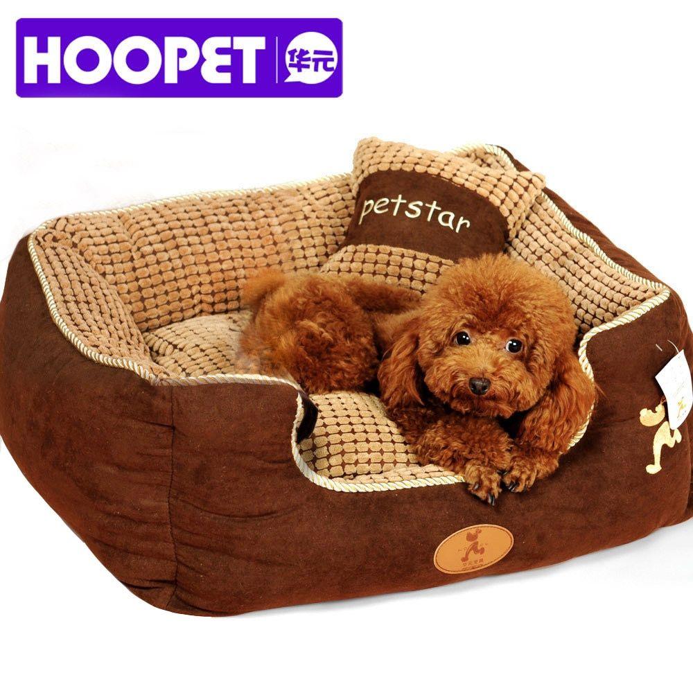 Hoopet Puppy Pet Dog Bed Warming Dog House Soft Materialfa Bric