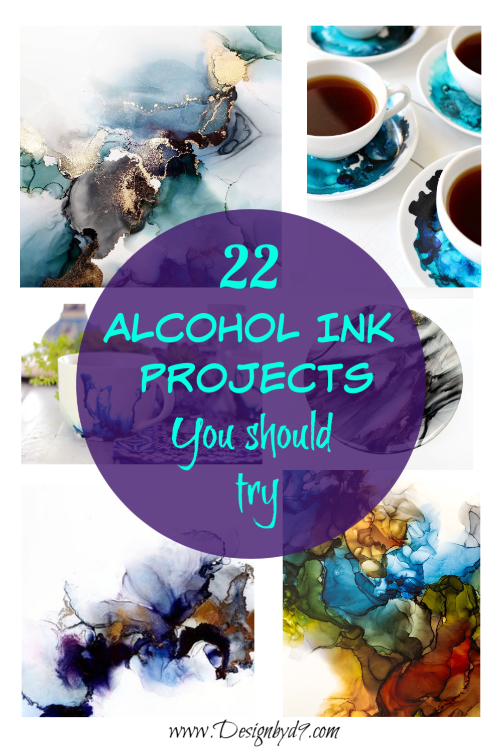 Are you looking for something creative to try that doesn't require a lot of skill or setup? Why not try out alcohol ink? You can use it on a lot of diverse surfaces. Come and check out some project ideas.