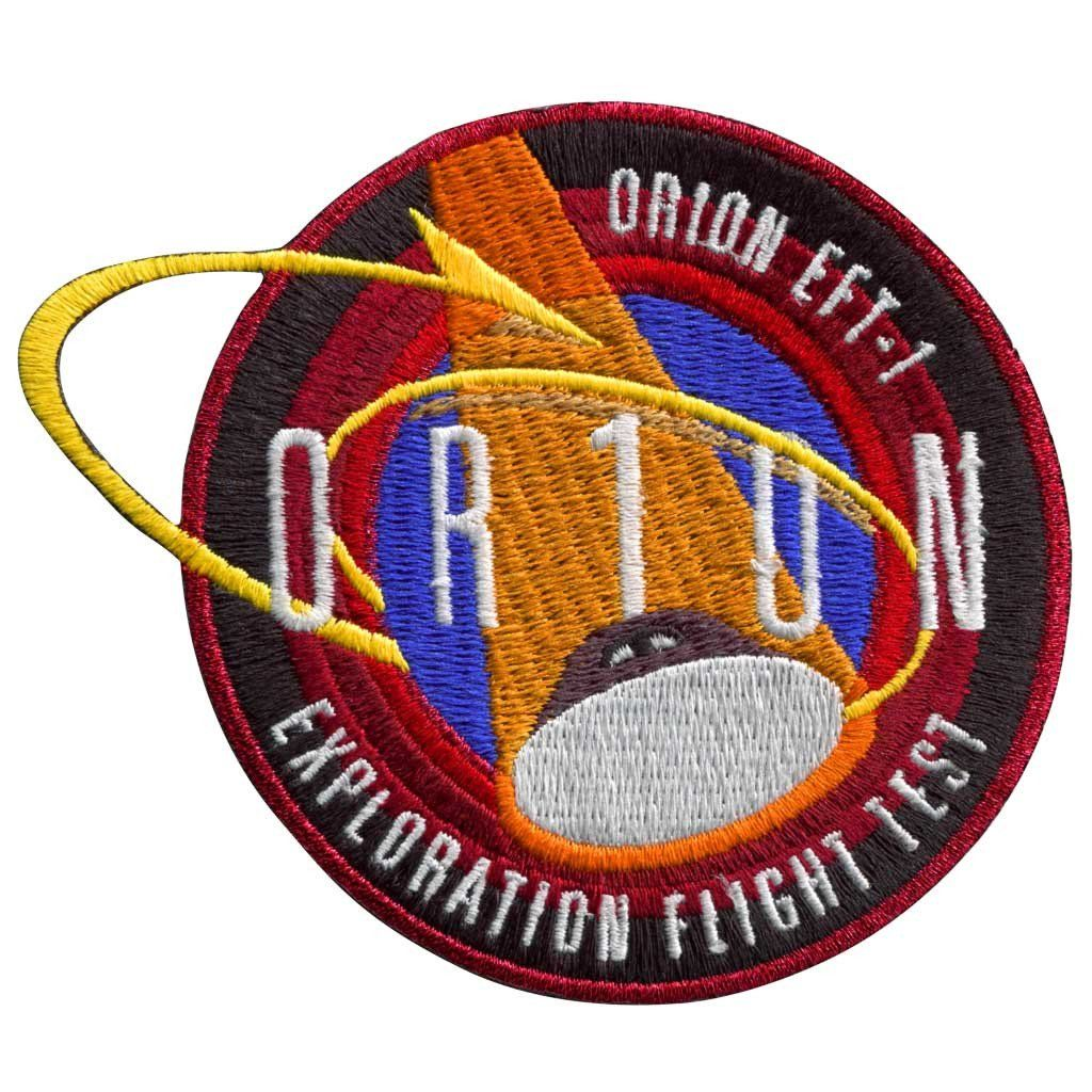Orion EFT1 Space patch, Orion spacecraft, Space launch