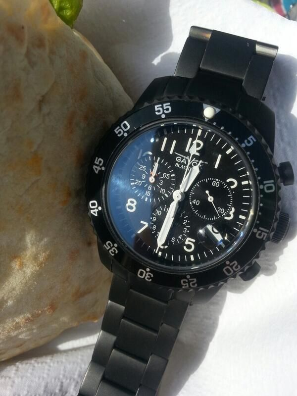 New proto unfinished jusy for fun belgian gavox time2give aviator 12 chrono time2give for Protos watches