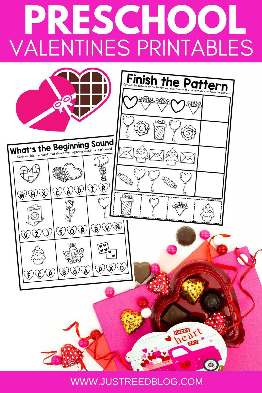 No Prep Valentines Printables And Worksheets For Preschool Or Pre K In 2021 Preschool Valentines Activities Preschool Valentines Valentines Printables [ 1500 x 1000 Pixel ]