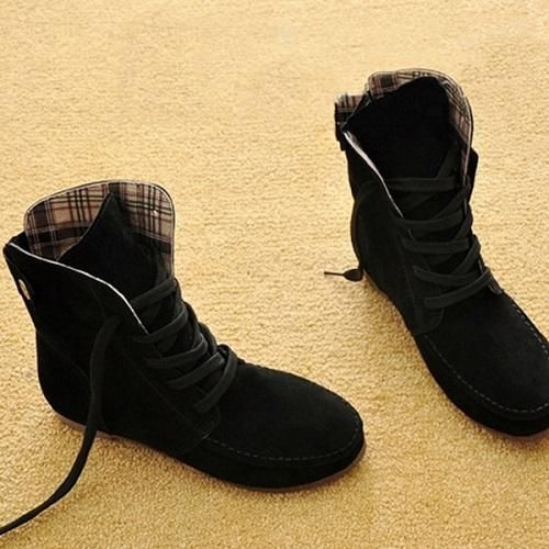 Department Name  Adult Item Type  Boots Model Number  TAA48 Heel Type  Flat  with Upper Material  Faux Suede Fit  Fits true to size, take your normal  size ... 77f1d314b2