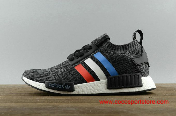 359ca9445 Adidas NMD R1 Pk Tri-Colore BB2887 Black Grey Primeknit Men s Originals   80.00
