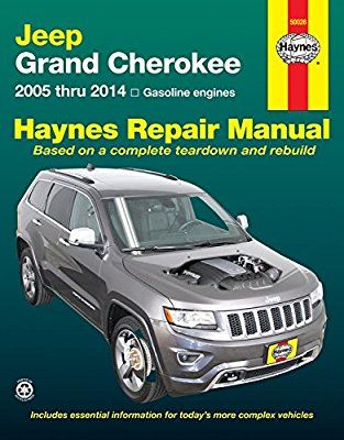 jeep grand cherokee 2005 thru 2014 gasoline engines haynes repair rh pinterest com 2012 jeep wrangler service manual pdf 2012 jeep wrangler repair manual pdf