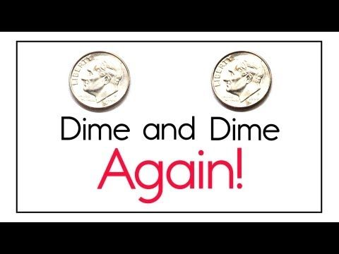 Coin Counting Song Dime And Dime Again You10 Pennies Equal A Dime