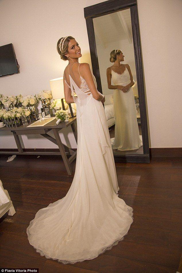 Brazilian Fashionista Helena Bordon Holds Third Wedding In St Barts