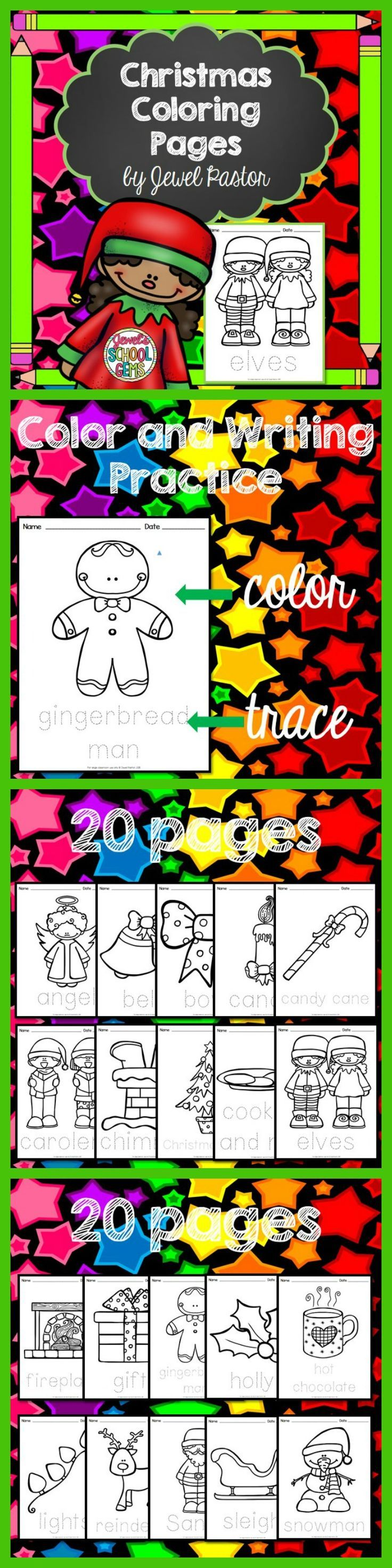 Christmas coloring pages for kindergarten students - Christmas Coloring Pages Christmas Coloring Pages Is The Perfect Activity For Your Students This
