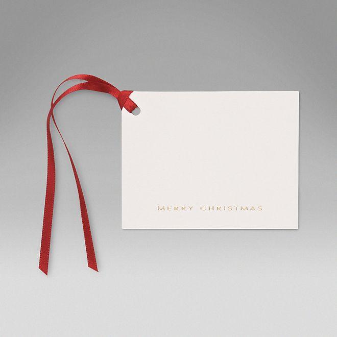 Merry Christmas Gifts Tags - Smythson £15.00
