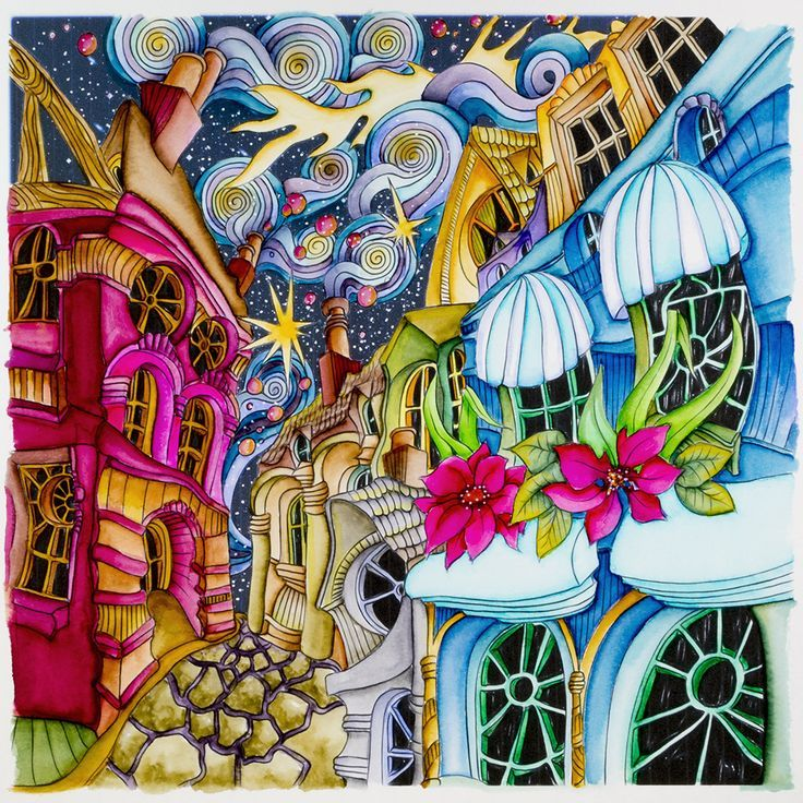 Cobbled Streets From Lizzie Mary Cullen Book Magical City Colored By Me