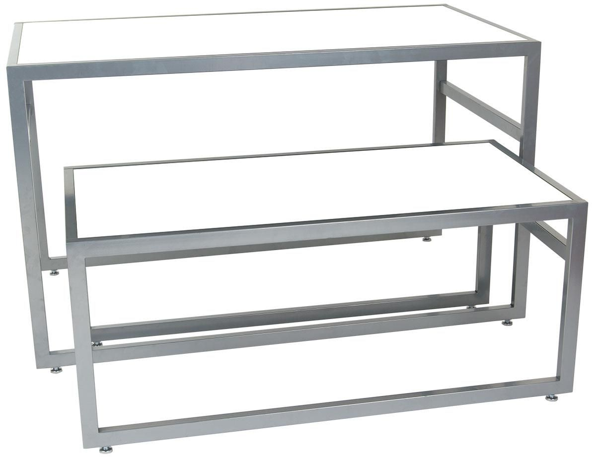 Glass Display Tables Retail Nesting Tables Retail Furniture Furniture