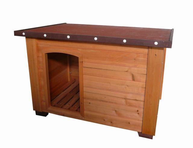Flat Roof Dog House Plans | Flat Roof Dog House (D6074)