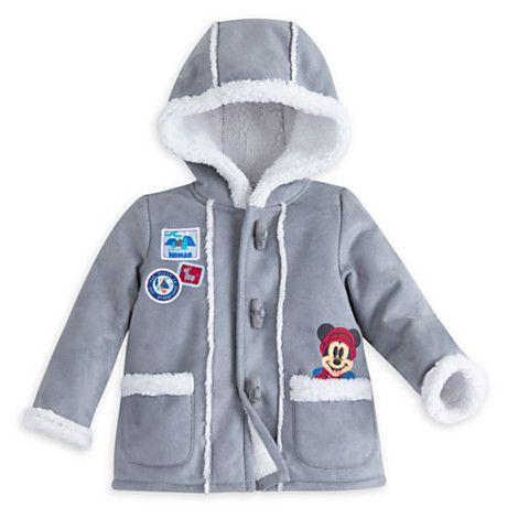 c5db1bce508a Mickey Mouse Holiday Fleece Jacket for Baby