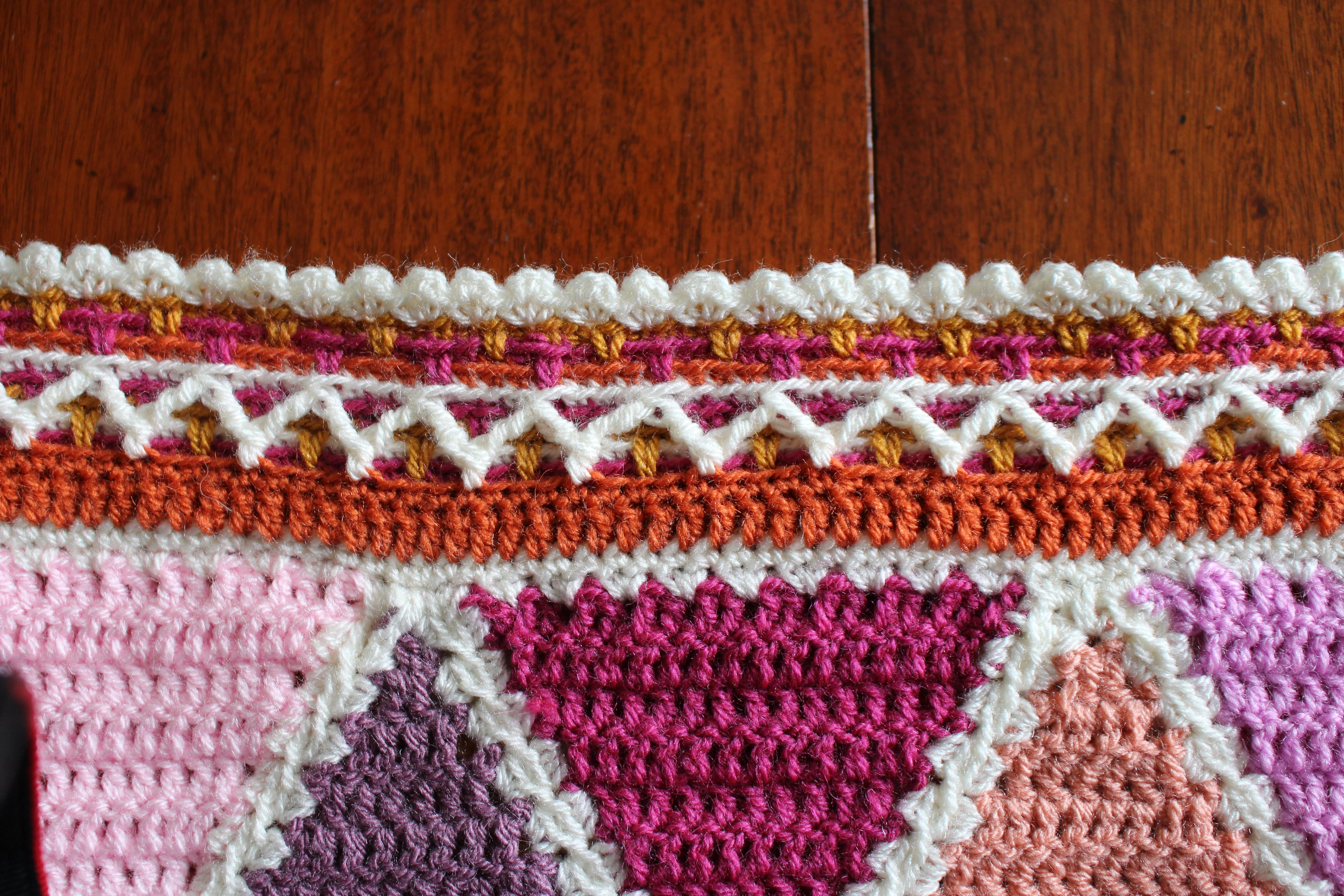july-is-nearly-over-the-harlequin-blankets-details i am on schedule ...