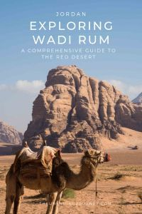 Exploring Wadi Rum - The Red Desert of Jordan #wadirum