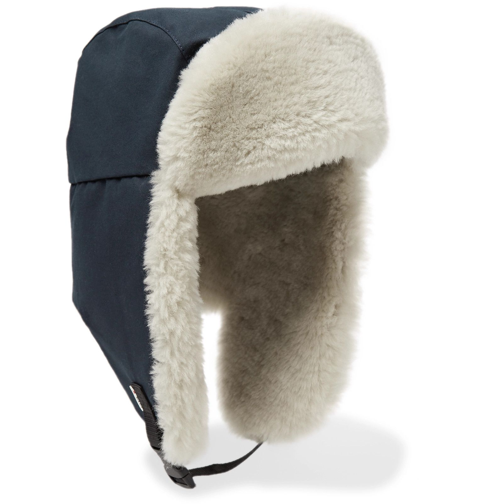 0abf97ca8ad87 Best Made Company - RCMP Cotton-Ventile and Shearling Trapper Hat ...
