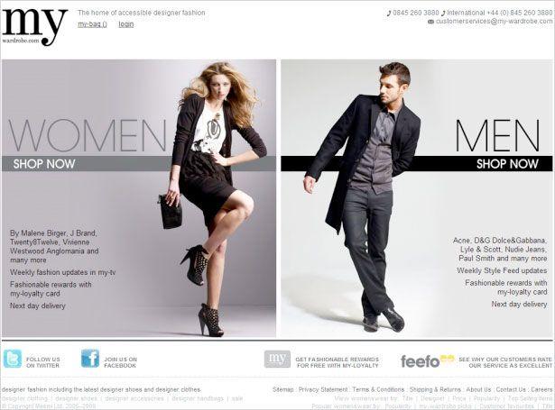 Mens Discount Designer Clothing Websites