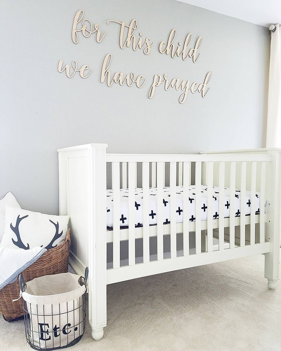 Best Mindful Gray Sw 7016 Nursery With Images Nursery 400 x 300