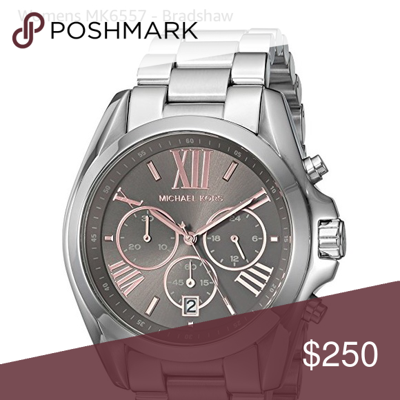 6f1b9fbed88d Michael Kors Bradshaw Watch MK6557 Michael Kors Bradshaw Watch MK6557  Stainless steel case. Stainless steel