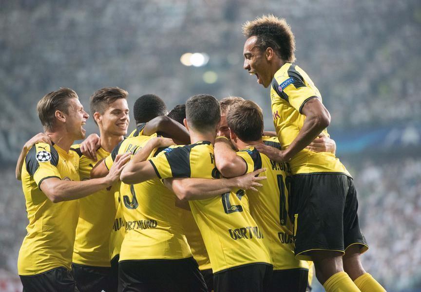 Bilder der Champions-League-Partie zwischen Legia Warschau und Borussia…