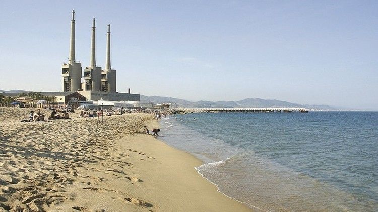 Playas cerca de Barcelona