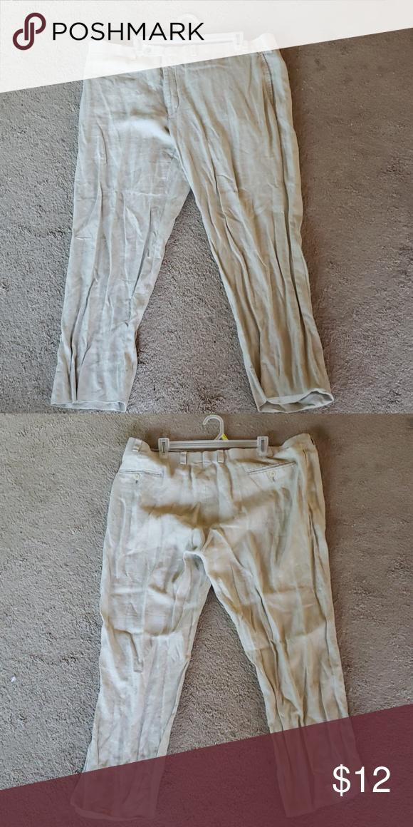 Men S Linen Pants Tan Linen Pants Summer Is Around The Corner Time To Get Prepared Calvin Klein Pants Chinos K Mens Linen Pants Linen Pants Tan Linen Pants