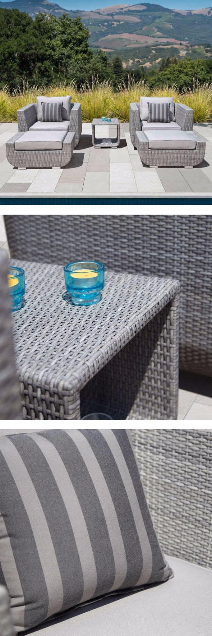 Turn your outside seating space into a backyard oasis with