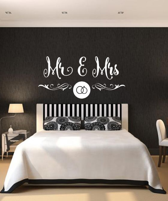 Vinilo Decorativo Mr And Mrs Habitacion Matrimonio Www Decoracion Habitacion Matrimonio Decoracion Habitacion Matrimonial Decoracion De Cuartos Matrimoniales