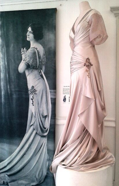 1 Margaine-lacroix dress- love the difference in how it was worn then vs now. Shaping by corset!