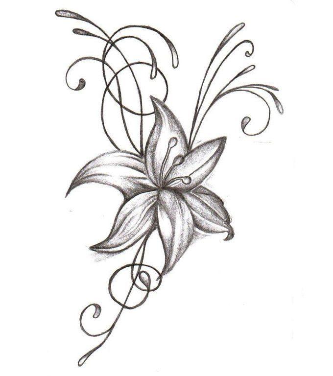 Fleur De Lys Dessin