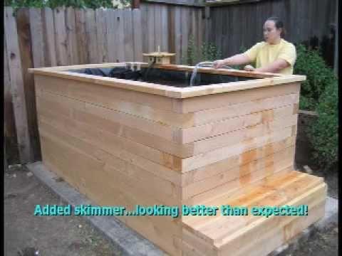 My Wood Koi Pond