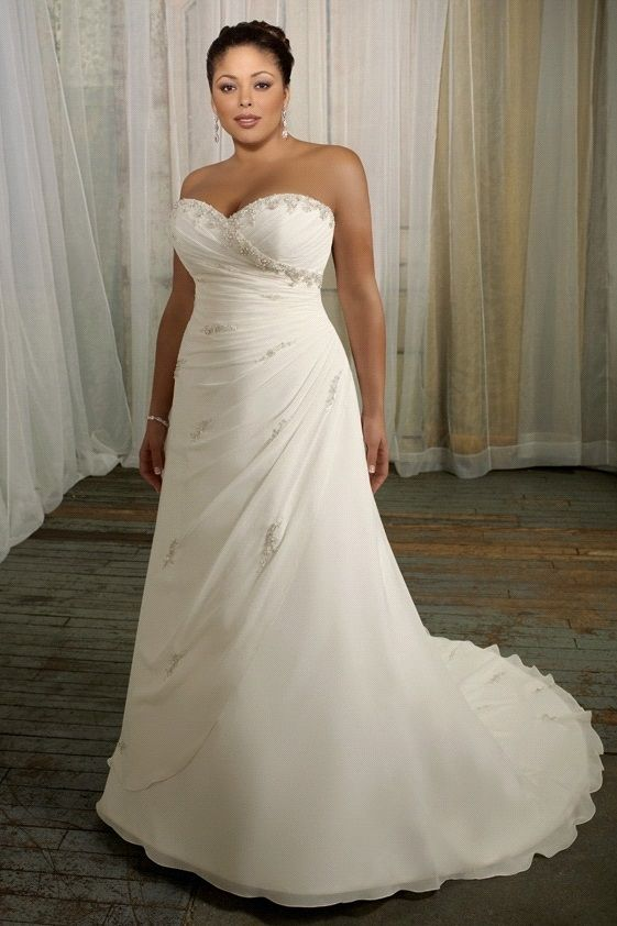 Floral ball gown understated big boobs wedding gown vow for Wedding dresses for big chest
