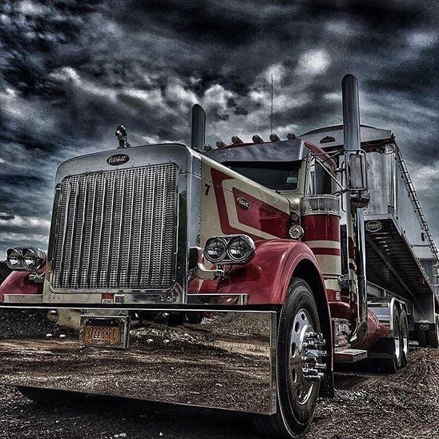 Storms Rolling In Truckersview Roadhog Dieselpower Trucking