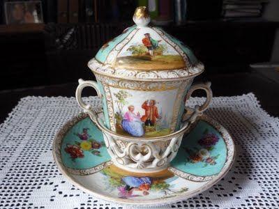 Arte, livros e velharias: Porcelana alemã