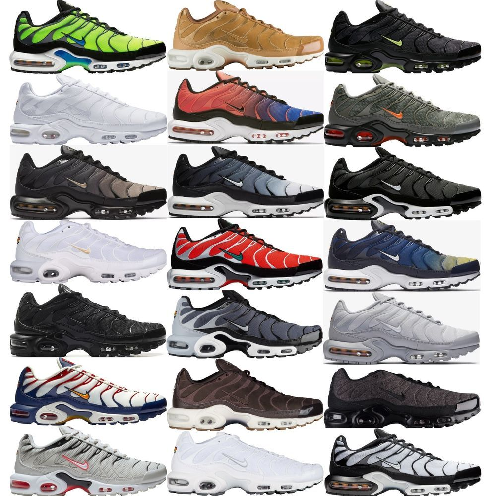 Estación de ferrocarril Marcha mala Acostumbrar  NIKE AIR MAX PLUS Tn Tuned Air MEN'S PREMIUM SNEAKERS LIFESTYLE COMFY SHOES  | Nike air max plus, Air max plus, Nike