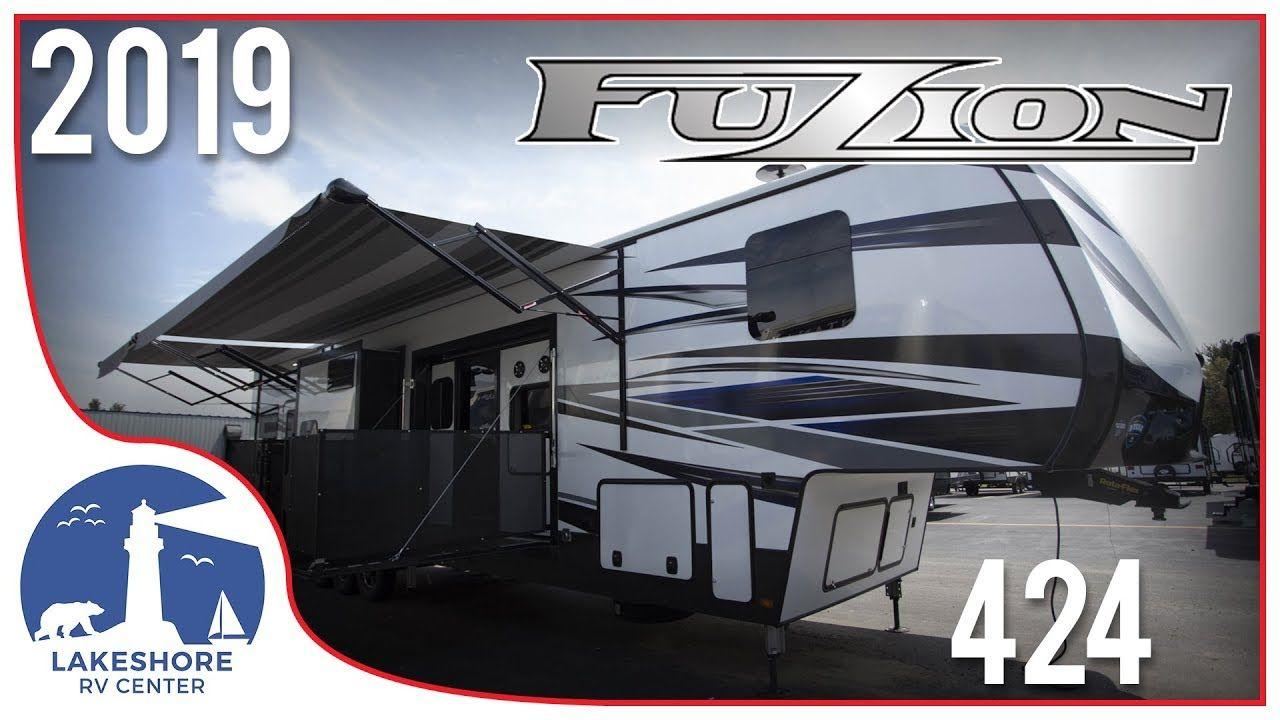 2019 Keystone Fuzion 424 5th Wheel Toy Hauler RV For Sale