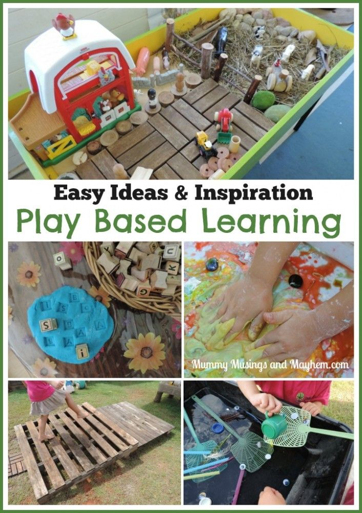 A Week of Play Based Learning - Ideas, Activities ...