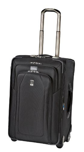 Travelpro Luggage Crew 9 24-Inch Expandable Rollaboard Suiter Bag, Black, One Size for sale