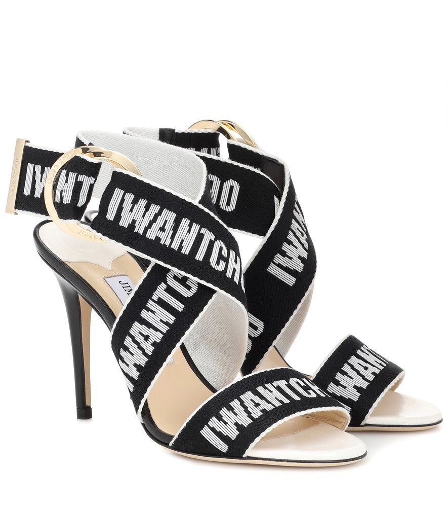 d5552b0902d ... gives streetwear chic its signature glamour treatment in the form of  these tall black sandals