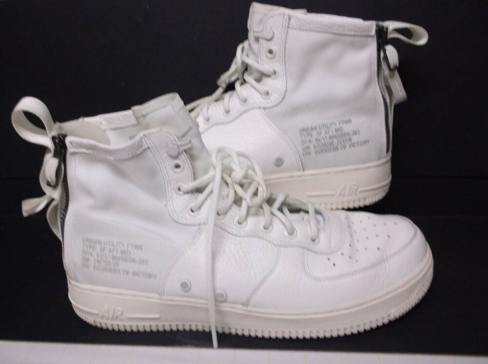 be638b0cd Nike Air Force 1 SF AF1 Mid QS..White.. AA6655-100..Size 10.5 #fashion  #clothing #shoes #accessories #mensshoes #athleticshoes (ebay link)